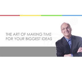 Jeff-ism Video: How to Make Time for Your Biggest Ideas
